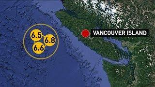 Series of earthquakes strikes off B.C. coast