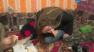 """صبايا الخير   بالفيديو ريهام سعيد تفقد يديها أمام الكاميرا و تأكل """" بقدمها فقط """"..تعرف على القصة..!"""