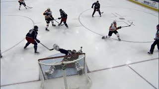 Bobrovsky makes unbelievable blocker save on Giroux