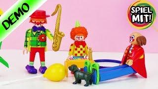 Playmobil deutsch DIE CLOWNFAMILIE WÄCHST | Bald geht die Clown Vorstellung im Zirkus los
