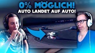 0% MÖGLICH !! Auto landet auf Auto !! | WTF Videos