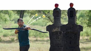 Archery Trick Shots 2 | Dude Perfect
