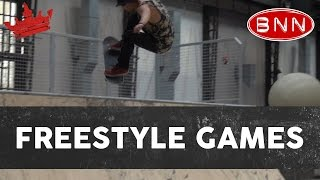 "ZU5E BIJ ""THE FREESTYLE GAMES"" VAN BNN"