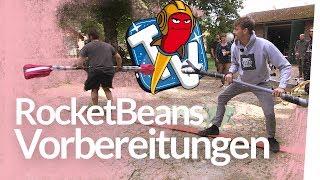 Kliemannsland Gladiators Part 1 – Hindernis-Parkour für Rocket Beans TV bauen | Kliemannsland