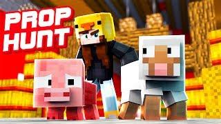 WIRD SIE UNS FINDEN? | Minecraft Prop Hunt