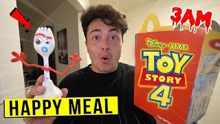 DO NOT ORDER FORKY HAPPY MEAL FROM MCDONALDS AT 3 AM!!
