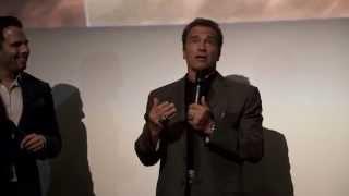 Arnold Schwarzenegger Meets Fans At Terminator Genisys London Screening