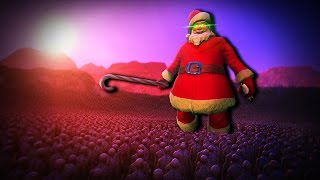 SANTA vs 100.000 ZOMBIES!? | (UEBS) Ultimate Epic Battle Simulator - Witzige Momente (Funny Moments)