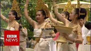 Thai cave rescue: Saying sorry to cave spirit Nang Norn - BBC News