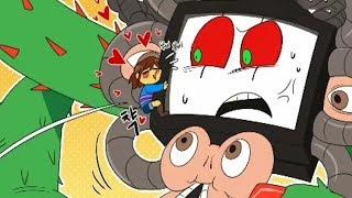 Frisk Has CERTAINLY Surprised PHOTOSHOP Flowey! (Undertale Comic & Animation Dub Compilation)