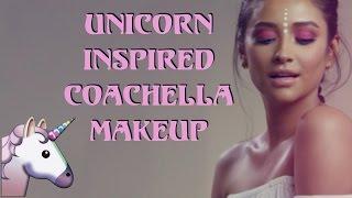 Unicorn Inspired Coachella Makeup Tutorial   Shay Mitchell