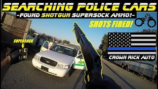 Searching Police Cars Found SuperSock ShotGun Ammo!