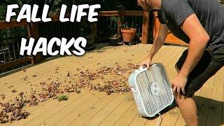5 Fall Leaves Life Hacks