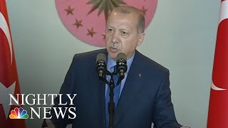 Turkey Accusing US Of Trying To Tank Its Economy After Trump Orders New Sanctions | NBC Nightly News