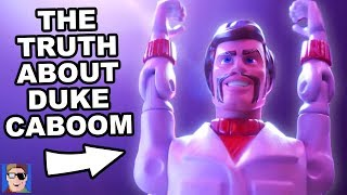 The Truth About DUKE CABOOM | Toy Story 4