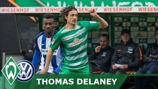 Volkswagentalk mit Thomas Delaney | SV Werder Bremen - Hertha BSC 2:0