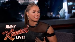 Ronda Rousey on Fighting and Eminem