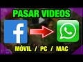 INTERNET | Videos de FACEBOOK a WHATSAPP...mp3