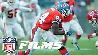 #5 Shannon Sharpe | Top 10 Tight Ends of All Time | NFL Films