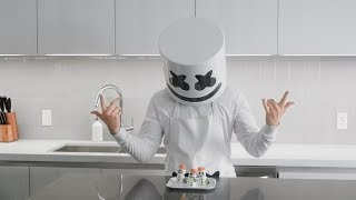 Cooking with Marshmello: How To Make Egg Snowman