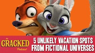 ​5 Unlikely Vacation Spots From Fictional Universes