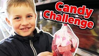 Die 10€ SÜßIGKEITEN CHALLENGE 🍫! Wer kauft für genau 10€ ? TipTapTube