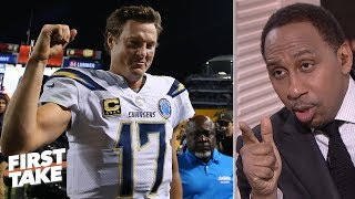 Chargers, Ravens lead the pack for AFC wildcard spots | First Take