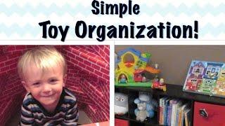 TOY ORGANIZATION IDEAS | Favorite Kids