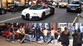 A MASSIVE FIGHT And A £3M Bugatti Chiron!!!