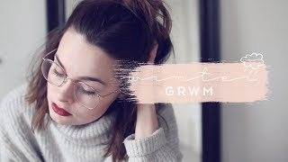 Winter Morning Routine GRWM | Cruelty Free | Lucy Moon