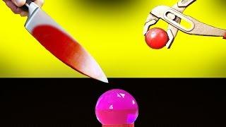 EXPERIMENT Glühende Metall Kugel VS Aqualinos