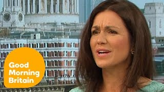 Piers and Susanna Clash Over Jennifer Aniston And Body Shaming   Good Morning Britain