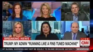 Panel SHOCKED and SPEECHLESS At Donald Trump MAD Press Conference Performance