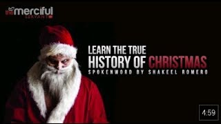Learn the true history of Christmas - SANTA = SATAN