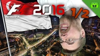 ÜBERSCHLAG! | Singapur 1/2 🎮 F1 2016 #43