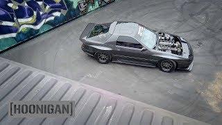 [HOONIGAN] DT 048: 1100HP Twin Turbo FC RX7 Gets Rowdy