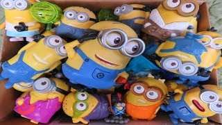 Despicable Me Minions Box of Toys Lucy Kevin The Minions Bob Phil Tim Karl Jerry Stuart Dave