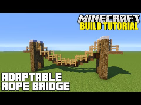 ... How To Build A Hanging Rope Bridge Tutorial (Simple, Easy & Adaptable