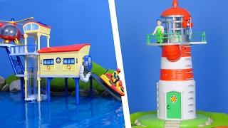 FEUERWEHRMANN SAM für Kinder: Neue Beste Ocean Rescue Sets | Feuerwehrmann Sam Rettungsaktionen