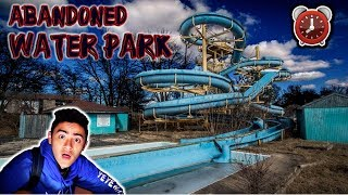 24 HOUR OVERNIGHT CHALLENGE IN ABANDONED WATER PARK!