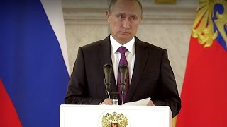 Putin on Trump victory: Russia is ready to restore relations with US