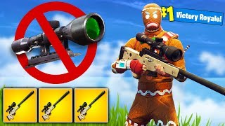 *NO-SCOPE* KILLS ONLY Challenge in Fortnite Battle Royale