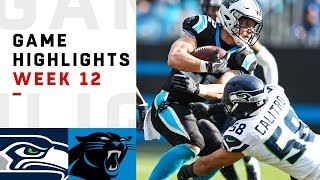Seahawks vs. Panthers Week 12 Highlights   NFL 2018
