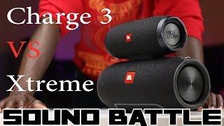 JBL Charge 3 vs JBL Xtreme - Geeky Vids Awesome Video Portal