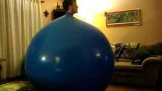 Nick in a Balloon