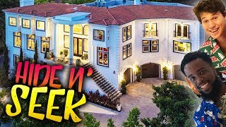 INSANE GAME OF HIDE AND SEEK IN THE 2HYPE MANSION!! PART 2