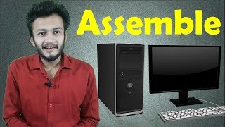 {HINDI} Step by step instructions on How to assemble a computer || Build your own desktop computer