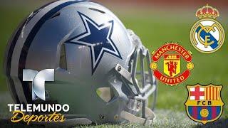 Los Cowboys dejan en ridículo a los gigantes del fútbol   Más Deportes   Telemundo Deportes