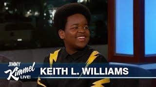 12-Year-Old Keith L. Williams on Cursing, Acting & Being Famous