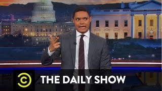"""Between the Scenes - The """"Hidden Gun"""" of Health Care: The Daily Show"""